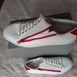 Zara men's white sneakers